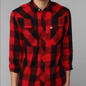 salt valley red and black flannel